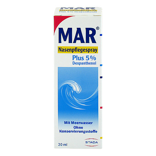 Mar plus 5% Nasen-Pflegespray - 1