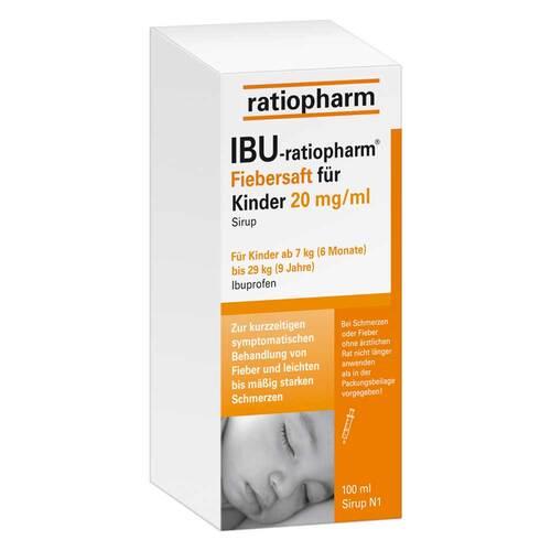 Ibu Ratiopharm 2% Fiebersaft für Kinder - 1