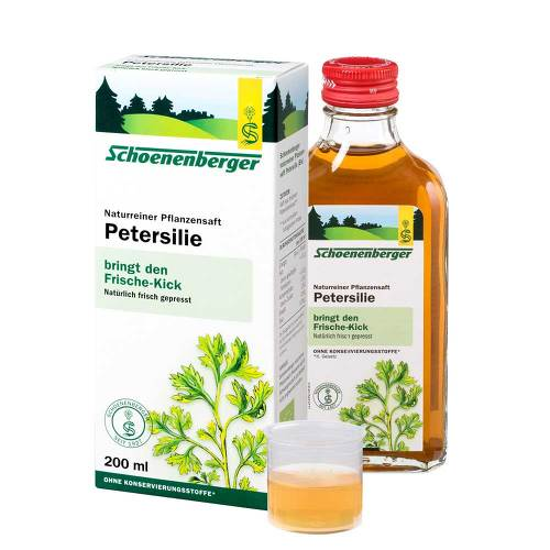 Petersilie Saft Schoenenberger - 1