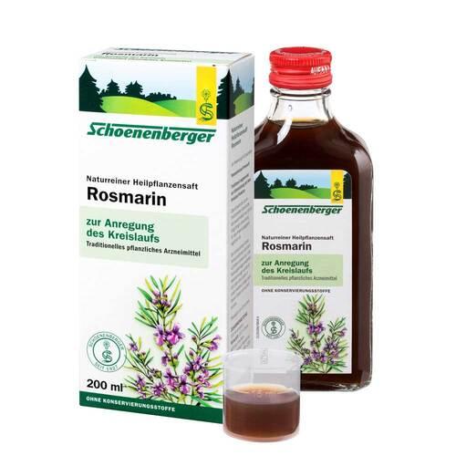 Rosmarin Saft Schoenenberger - 1