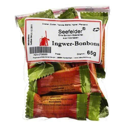 Seefelder Ingwer-Bonbons KDA - 1