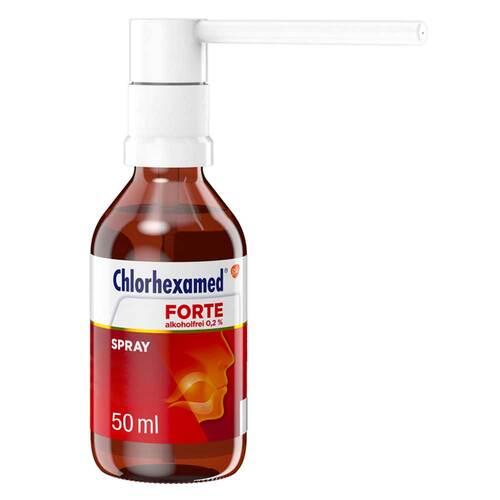 Chlorhexamed Forte alkoholfrei 0,2% Spray - 1