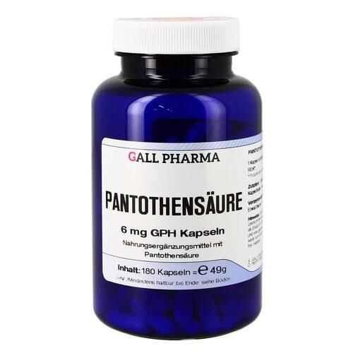 Pantothensäure 6 mg GPH Kapseln - 1
