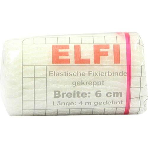 Dracoelfi elastisch Fixierbinde 6cmx4m gekreppt cello - 1