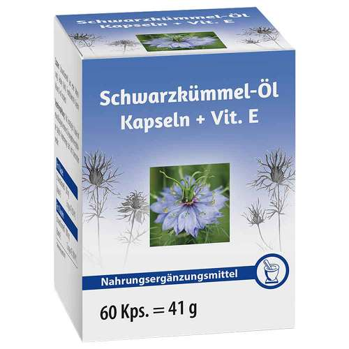 Schwarzkümmelöl + Vitamin E Kapseln - 1