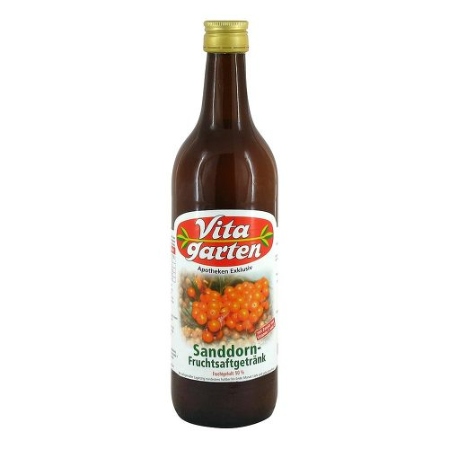 Vitagarten Sanddorn Fruchtsaft Getränk - 1