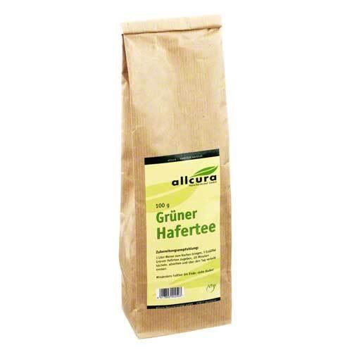 Grüner Hafertee - 1