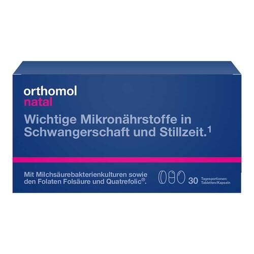 Orthomol Natal Tabletten / Kapseln Kombipackung - 1