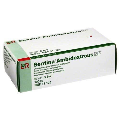 Sentina Ambidextrous Untersuchungshandschuhe ungepudert S - 1