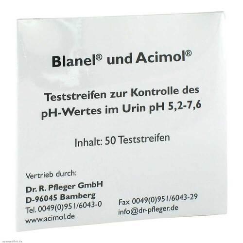 Teststreifenheft z.Bestimmung d.Urin ph Wertes - 1