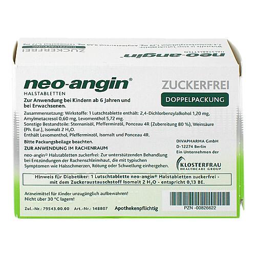 Neo Angin Halstabletten zuckerfrei - 2