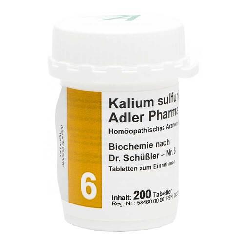 Biochemie Adler 6 Kalium sulfuricum D6 Adl.Ph. Tabletten - 1