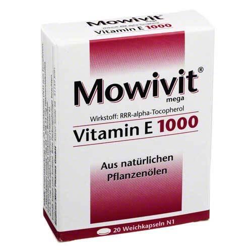 Mowivit Vitamin E 1000 Kapseln - 1