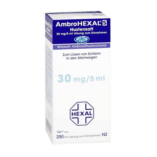Ambrohexal S Hustensaft 30 mg/5 ml - 1
