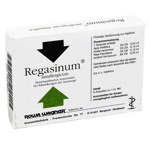 Regasinum Antallergicum Ampullen - 1