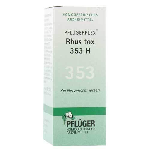 Pflügerplex Rhus toxicodendron 353 H Tabletten - 1