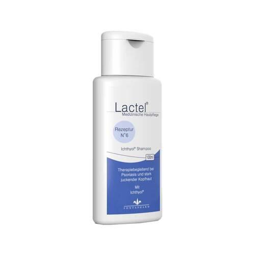 Lactel Nr.6 Ichthyol Shampoo gegen hartnäckige Schuppen - 1