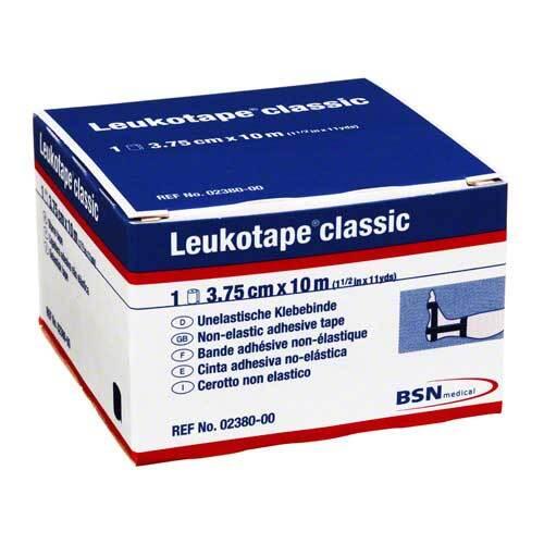 Leukotape Classic 10mx3,75cm schwarz - 1