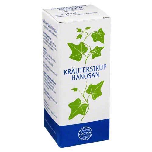 Kräutersirup Hanosan - 1