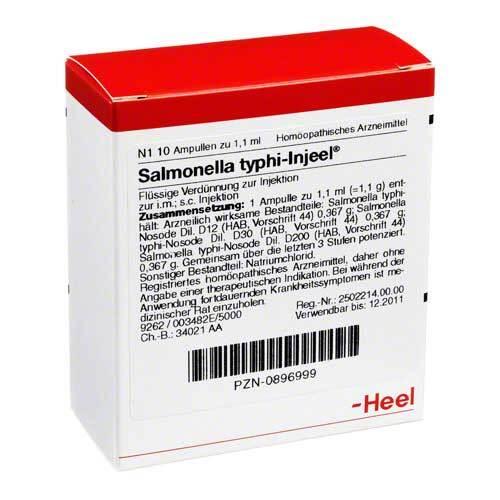 Salmonella Typhi Injeel Ampullen - 1
