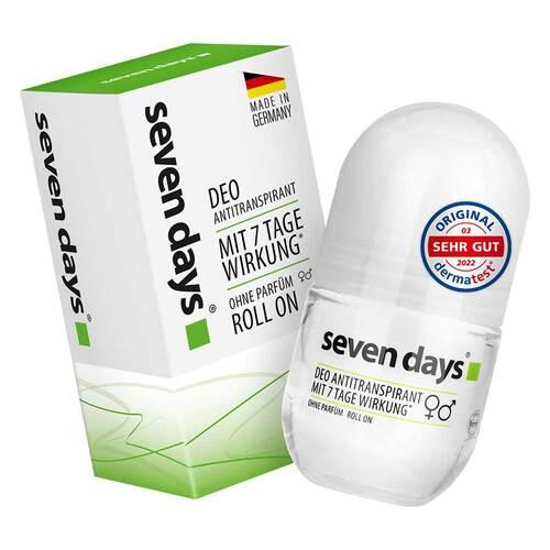 Seven Days Das Antitranspirant Roll On Big Ball - 1