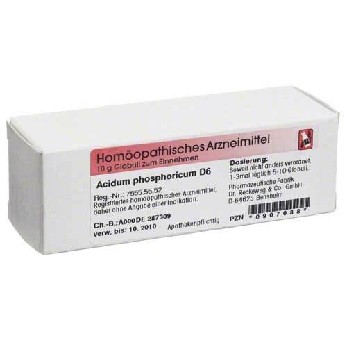 Acidum phosphoricum D 6 Globuli - 1
