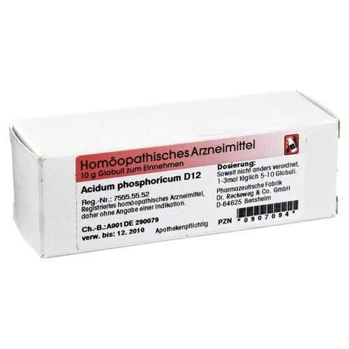 Acidum phosphoricum D 12 Globuli - 1