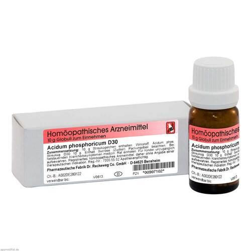 Acidum phosphoricum D 30 Globuli - 1