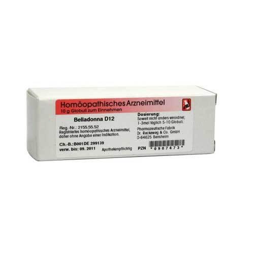 Belladonna D 12 Globuli - 1