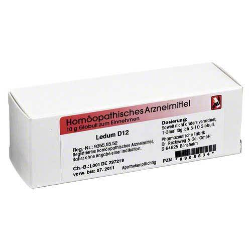 Ledum D 12 Globuli - 1