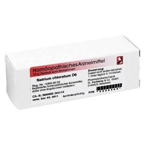 Natrium chloratum D 6 Globuli - 1