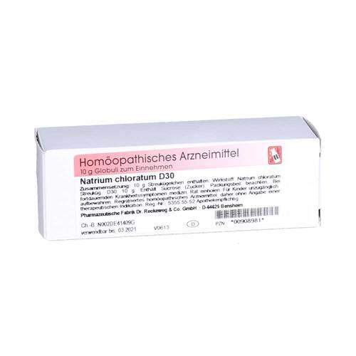 Natrium chloratum D 30 Globuli - 1