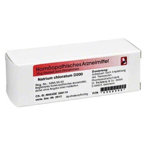 Natrium chloratum D 200 Globuli - 1