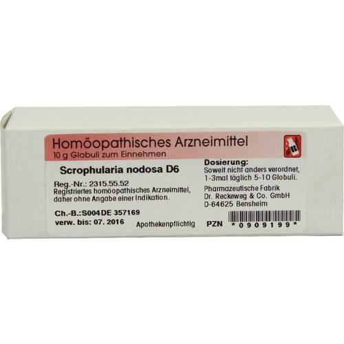 Scrophularia nodosa D 6 Globuli - 1