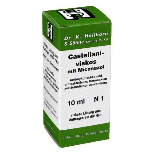 Castellani viskos mit Miconazol Lösung - 1