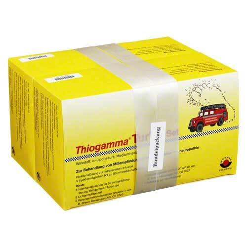 Thiogamma Turbo Set Injektionsflaschen - 1