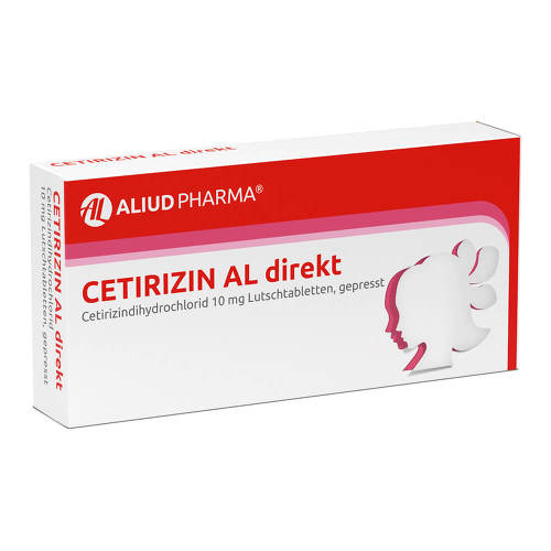 Cetirizin AL direkt Lutschtabletten - 1