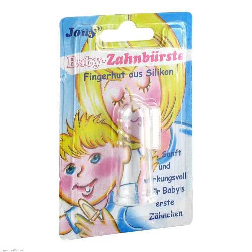 Babyzahnbürste Fingerhut - 1