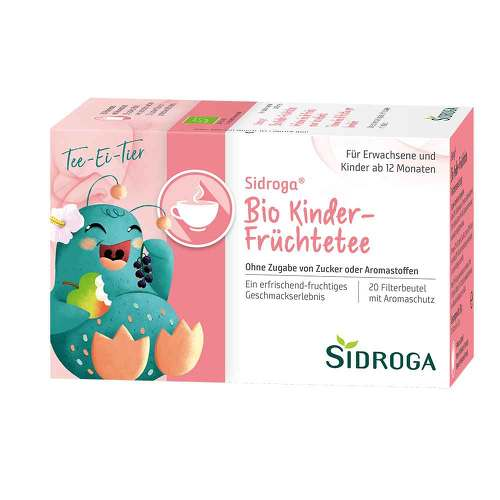 Sidroga Bio Kinder-Früchtetee Filterbeutel - 1