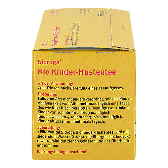 Sidroga Bio Kinder-Hustentee Filterbeutel - 3