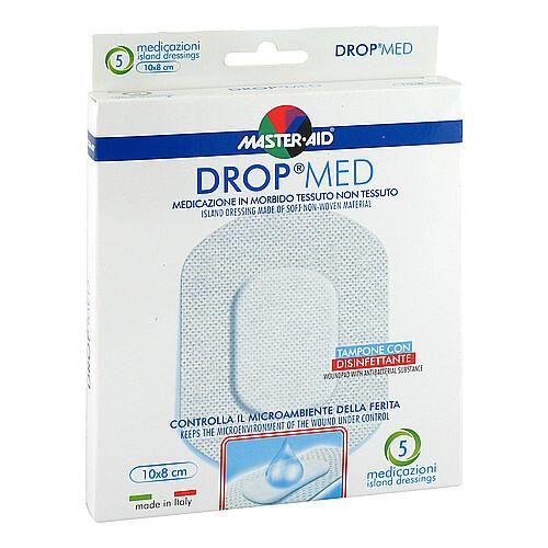Drop med 10x8 cm Wundverband Master Aid - 1