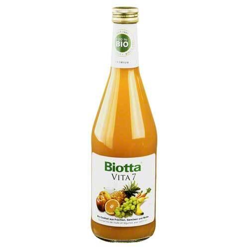 Biotta Vita 7 Früchte-Gemüse-Direktsaft mit Molke - 1