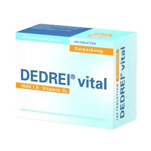 Dedrei vital Tabletten - 1