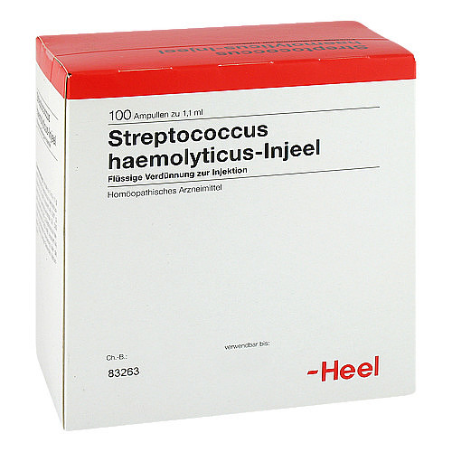Streptococcus Haemolyticus Injeel Ampullen - 1