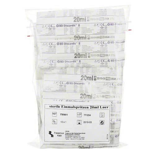 Spritzen Einmal 20 ml steril - 1