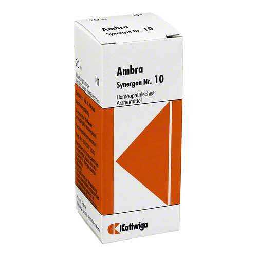 Synergon 10 Ambra Tropfen - 1