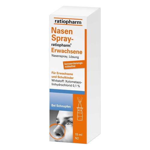 PZN 00999848 Nasenspray, 15 ml