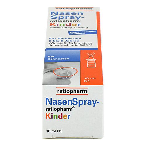 Nasenspray ratiopharm Kinder - 4