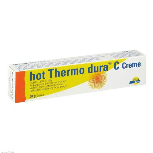 Hot Thermo dura C Creme - 1