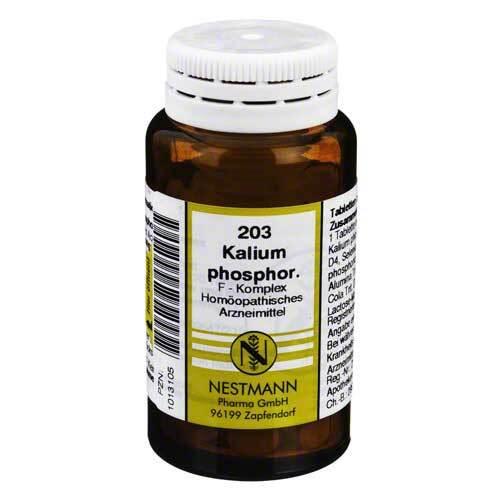 Kalium phosphoricum F Komplex Nr. 203 Tabletten - 1